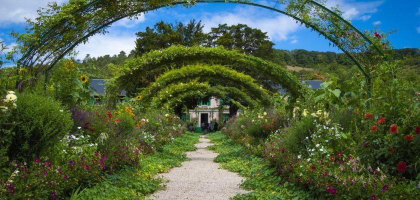 Entretien du jardin : l'exemple de Giverny